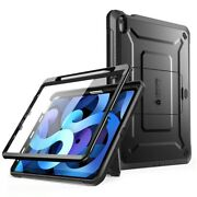 Tab Case Full Body Rugged Cover Built In Screen Protector Kickstand For Ipad Air