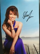 Shania Twain Genuine 12x8 Signed Photo With Coa Superb And Ready For Framing