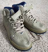 Mens Rare Olive Military Black History 10.5 Nike Air Force 1 Tuskegee Airmen Ds