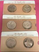Franklin Mint Proof Bronze History Of The Us 1864-75 108pc Set