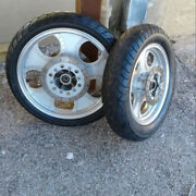 2006 Johnny Pag Motorcycle Oem Front And Rear Wheels And Tires