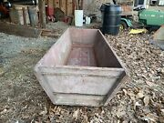 Early Primitive Wooden Water Trough Horse/ Cattle /farmhouse