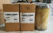 2 New Genuine Luber-finer Fuel Filter Pn L5094f And 1 Slightly Used Filter