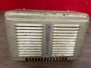 1940and039s-50and039s Vintage Eureka Car/truck Heater Box Original 321