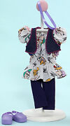 Madame Alexander Favorite Friends Party Time In Purple Outfit Fits 18 Inch Dolls