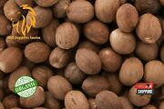 Whole Dried Nutmeg, Grade A Quality, Organic Pure Herbs And Spices