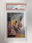 1996 Topps Chrome Kobe Bryant Youthquake Los Angeles Lakers Rookie Card Psa 8