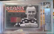 Roy Worters 04-05 Itg Ultimate Seams Unbelievable 2 Color Jersey New York Amer.