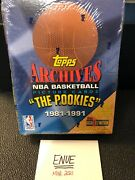 1992-93 Topps Archives Basketball The Rookies Sealed Box