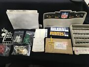 Vintage 1970 Tudor Games Nfl Football Game Parts And Players