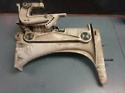 Exhaust Housing And Clamps For An Older Mercury Mark 25 Outboard Motor 1950's