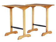 Pair Of Early 20th Century Swedish Birch Side Tables