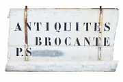 Early 20th Century French Antique Street Shop Sign