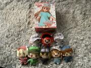 Cells At Work Anime Platelet Figure Key Chain Mascot 8 Types Set