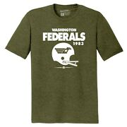 Washington Federals 1983 Usfl Football Tee Shirt