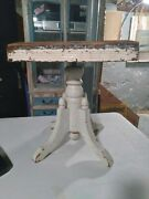 Antique 1800s Adjustable Piano/vanity Stool Or Show Piece Needs To Be Restore