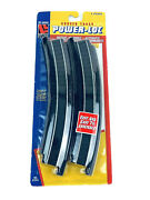 Ho Scale Power-loc Curved Track 4 Pieces - Life-like 21303