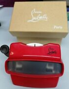 Ultra Rare Christian Louboutin Viewmaster Exclusive Limited Vip Collectible