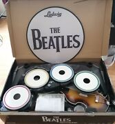 Xbox 360 Rock Band The Beatles Limited Bundle Guitar Hofner Drums Stand