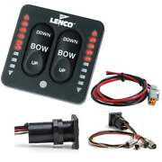 Lenco Led Indicator Integrated Tactile Switch Kit W/pigtail F/single Actuator