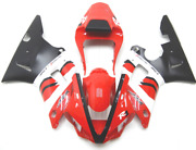 00-01 Yamaha Yzf R1 Red Fairing Kit Best Aftermarket Fairing Set In Stock