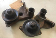 Pair 1937-1948 Ford Flathead V8 Right And Left Water Pump And Pulley 8505 And 8506