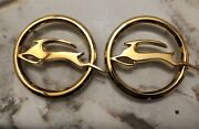 1962 Chevy Impala Gold Plated Emblems