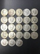 Lot Of 43 40 Silver Kennedy Halves Half Dollars 1965-1969 As Shown 21.50 Face