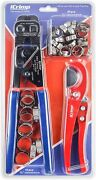 Icrimp Mini Pex Pipe Quick Cinch Tool Set For Stainless Steel Clamp From 3/8-in