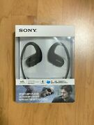 Sony Nw-ws413bm 4gb Waterproof And Dustproof Wearable Mp3 Player - Black