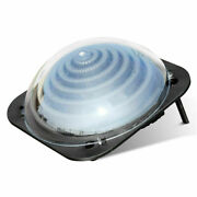 Black Outdoor Solar Dome Inground Andabove Ground Swimming Pool Water Heater