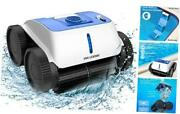 New Wall-climbing Cordless Robotic Pool Cleaner With 8600mah Battery