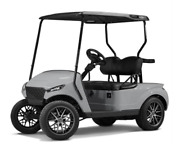 Madjax Storm Body Kit For Ezgo Txt Golf Cart - Cement Gray - Fits 94 And Up