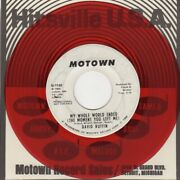 David Ruffin My Whole World Ended The Moment You Left Me Motown Demo M-1140 So