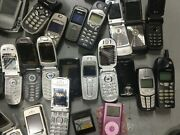 40 Vintage Mobile Phones Non-working Donor Spare Partsstage Props.