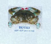 12 [frozen] Maryland Soft Shell Crabs Hotels Measures 4 To 4 1/2 Inches Approx