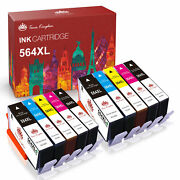 564 Xl Ink Combo For Hp Photosmart 5520 6510 6520 7520 Officejet 4610 4620 4622