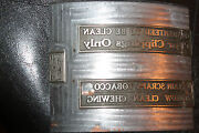 Rare Vintage Tobacco Advertising Printing Plate Cylindrical Tobacco Union Made