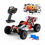 Remote Control Car,60+ Kmh 114 Scale Wltoys 144001 Fast Rc Cars For Adults K...