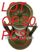 Antique Maritime Brass Hourglass Vintage Collectible Nautical Decor Sand Timer