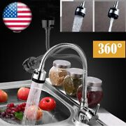 Pull Down Out Kitchen Spray Faucet 360anddeg Swivel Hot And Cold Spout Sink Mixer Tap