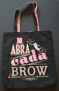 Benefit Cosmetics Large Tote Bag Abra Cada Brow New, Never Used
