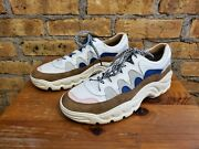 An Hour And A Shower Chunky Women's Sneaker Suede Panels 38 7.5