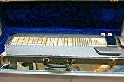 1949 Magnatone Melodier Key-less Steel Guitar With Ohsc, Great Condition. Coolio