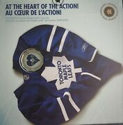 In The Heart Of The Action 2008-2009 Toronto Maple Leafs Canadian Mint Coin Set