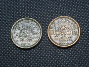 2 Rare Minnesota Cwtcivil War Tokens See Pictures L1254