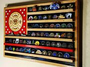San Diego California Fire Department Challenge Coin Display Flag 36x20