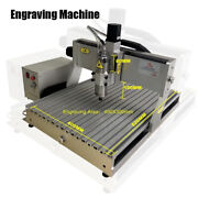 Engraving Machine Wood Router 4 Axis Metal Carving 3040 2200w Milling With Limit
