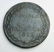1812 One 1 Penny Andover - W.s. And I. Wakeford Uk Token Copper Coin A521