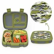 Kids Lunch Box With 5-compartment Leak-proof Bpa-free And Food-safe Materials.